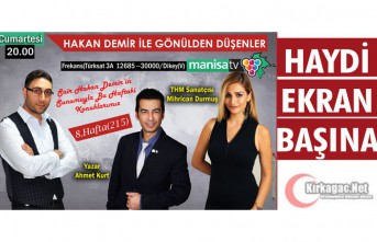 GAZETECİ-ŞAİR HAKAN DEMİR'İN BU HAFTAKİ...