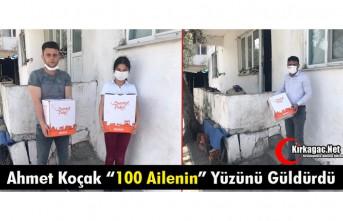 """KOÇAK """"100 AİLENİN"""" YÜZÜNÜ GÜLDÜRDÜ"""