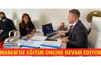 """MABEM'DE EĞİTİMLER """"ÇEVRİMİÇİ""""..."""