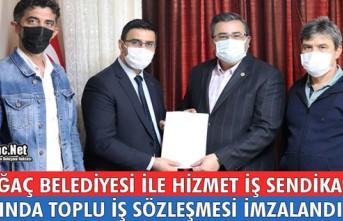 BELEDİYEİLE HİZMET İŞ SENDİKASI ARASINDA TOPLU...