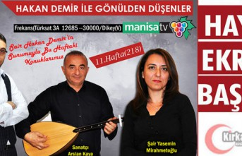 GAZETECİ-ŞAİR HAKAN DEMİR'İN BU AKŞAMKİ...