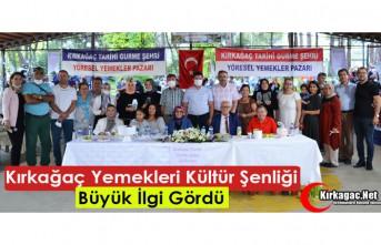 """""""KIRKAĞAÇ YEMEKLERİ KÜLTÜR ŞENLİĞİ""""..."""
