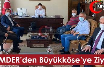 KİMMDER'DEN BÜYÜKKÖSE'YE ZİYARET