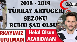 ACARİDMAN 'TÜRKAY'I' UNUTMADI