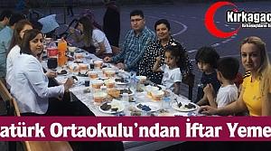 ATATÜRK ORTAOKULU''NDAN İFTAR YEMEĞİ