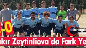 BAKIR G.B. ZEYTİNLİOVA'DA FARK YEDİ 5-0