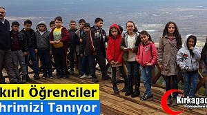 """BAKIRLI ÖĞRENCİLER 'ŞEHRİMİZİ"""" TANIYOR"""