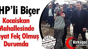"""BİÇER""""KOCAİSKAN MAHALLESİNDE HAYAT FELÇ OLMUŞ DURUMDA"""""""