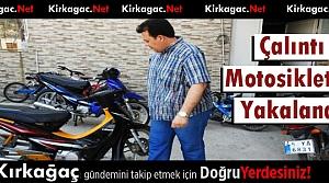 ÇALINTI MOTOSİKLETLER ELE GEÇİRİLDİ
