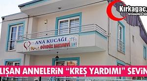 """ÇALIŞAN ANNELERİN 'KREŞ YARDIMI"""" SEVİNCİ"""