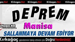 DEPREMLER DEVAM EDİYOR