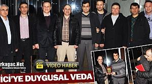 EMNİYET MÜDÜRÜ BİNİCİ'YE DUYGUSAL VEDA(VİDEO)