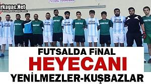 FUTSALDA FİNAL HEYECANI