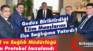 """""""GEDÜZ'DEN"""" KIRKAĞAÇ'A 112 ve İLÇE SAĞLIK MÜDÜRLÜĞÜ BİNASI"""