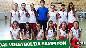 HİDAL VOLEYBOL'DA ŞAMPİYON