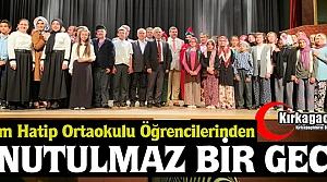 İ.H GELENBEVİ'DE UNUTULMAZ GECE