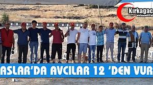 İLYASLAR'DA AVCILAR 12'DEN VURDU