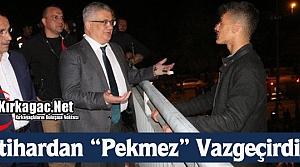 """İNTİHARDAN 'PEKMEZ"""" VAZGEÇİRDİ"""