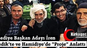 İREN, SİLEDİK'TE ve HAMİDİYE'DE PROJELERİNİ ANLATTI