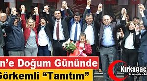 """İREN'E DOĞUM GÜNÜNDE GÖRKEMLİ 'TANITIM"""""""