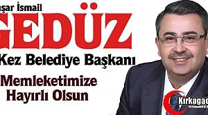 """KIRKAĞAÇ GEDÜZ'LE """"DEVAM"""" DEDİ"""