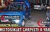 KIRKAĞAÇ'TA MOTOSİKLET KAZASI 4 YARALI