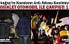 KIRKAĞAÇ'TA OTOMOBİL MOTOSİKLETLE ÇARPIŞTI...