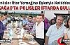 KIRKAĞAÇ'TA POLİSLER İFTARDA BULUŞTU