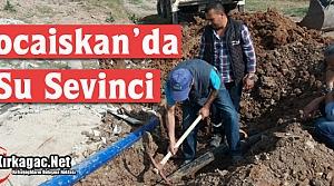 KOCAİSKAN'DA SU SEVİNCİ