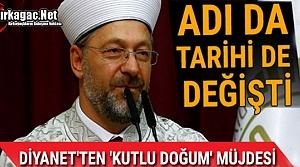 'KUTLU DOĞUM'UN' ADI DA TARİHİDE DEĞİŞTİ