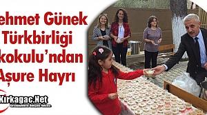 M.G TÜRKBİRLİĞİ'NDEN GELENEKSEL AŞURE HAYRI
