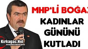 MHP'Lİ BOĞAZ 'KADINLAR GÜNÜNÜ KUTLADI'