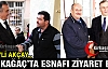 MHP'Lİ ERKAN AKÇAY KIRKAĞAÇLI ESNAFI ZİYARET ETTİ