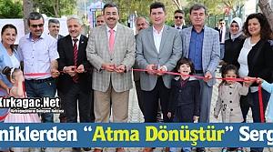 """MİNİKLERDEN 'ATMA DÖNÜŞTÜR"""" SERGİSİ"""