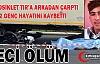 MOTOSİKLET TIR'A ARKADAN ÇARPTI 2 GENÇ ÖLDÜ