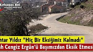 """MUHTAR YILDIZ """"ALLAH CENGİZ ERGÜN'Ü BAŞIMIZDAN EKSİK ETMESİN"""""""