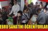 """ÖĞRENCİLERİN """"EBRU"""" SEVGİSİ"""