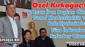 """ÖZEL 'OZAN BAŞKAN OLUNCA TÜM İMKANLARIMIZI SEFERBER EDECEĞİZ"""""""
