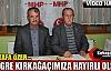 """ÖZER """"KONGREMİZ KIRKAĞAÇ'A HAYIRLI OLSUN""""(VİDEO)"""