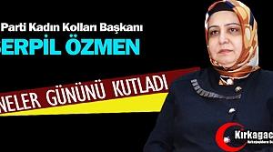 ÖZMEN 'CENNET ANNELERİN AYAKLARININ ALTINDADIR'