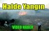 SEBZE HALİNDE YANGIN(VİDEO)