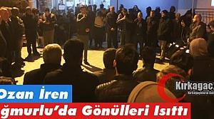 Ş.OZAN İREN, YAĞMURLU'DA GÖNÜLLERİ ISITTI