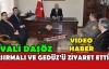 VALİ DAŞÖZ'DEN SIRMALI VE GEDÜZ'E ZİYARET(VİDEO)