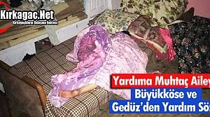 """YARDIMA MUHTAÇ AİLEYE """"DEVLET"""" SÖZÜ"""