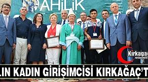YILIN KADIN GİRİŞİMCİSİ KIRKAĞAÇ'TAN