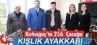 236 İHTİYAÇ SAHİBİ ÇOCUĞA AYAKKABI...