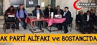 AK PARTİ ALİFAKI ve BOSTANCI'DA 'EVETİ' ANLATTI