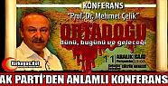 AK PARTİ'DEN ANLAMLI KONFERANS