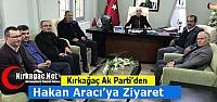 AK PARTİ'DEN ARACI'YA ZİYARET