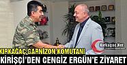 ALBAY KİRİŞÇİ'DEN ERGÜN'E ZİYARET